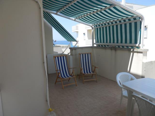 Attico Terrazza sul mare Rivabella - Rivabella - Apartment