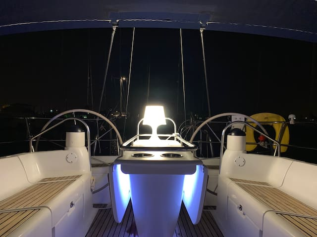 Exocet Two - Staying on a Luxury Sail Yacht!