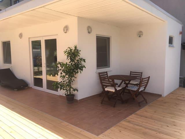 Back yard bungalow
