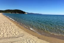 Enjoy one of the most beautiful beaches of Ηalkidiki just 30 meters from the house