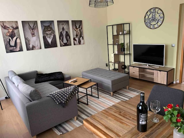 NEU:Stylisches City-Apartment *Netflix,Prime,BHF*