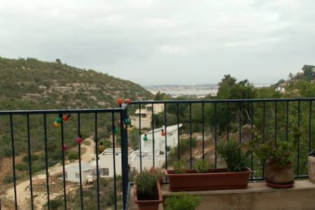 At Ein Hod artist village: house for rent+sea view - Ein Hod - Apartamento