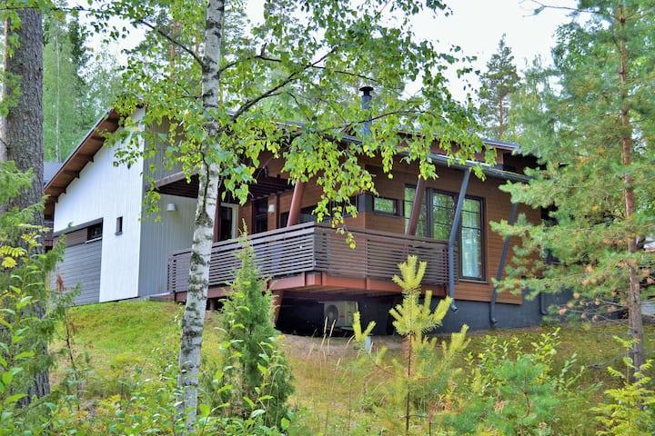 апартаменты - villas 2 рядом с озером Сайма и Спа