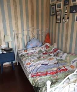 市中心地中海风格单人卧室带小阳台 - 杭州市