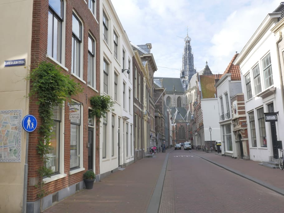 art studio in the centre of haarlem haarlem hollande septentrionale pays bas. Black Bedroom Furniture Sets. Home Design Ideas