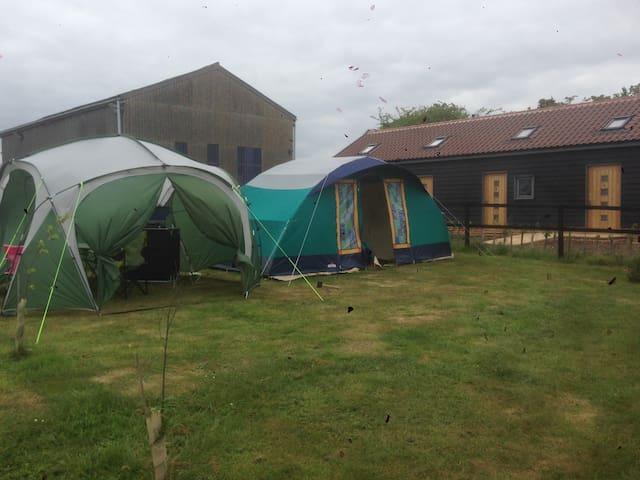Canvas Caban - The Croft Campsite