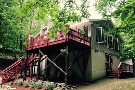 Beautiful Catskill Mountain Treehouse - West Shokan - Ev