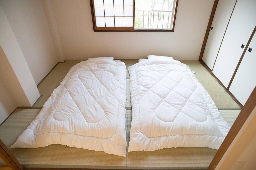 Japanese style beds, futon!