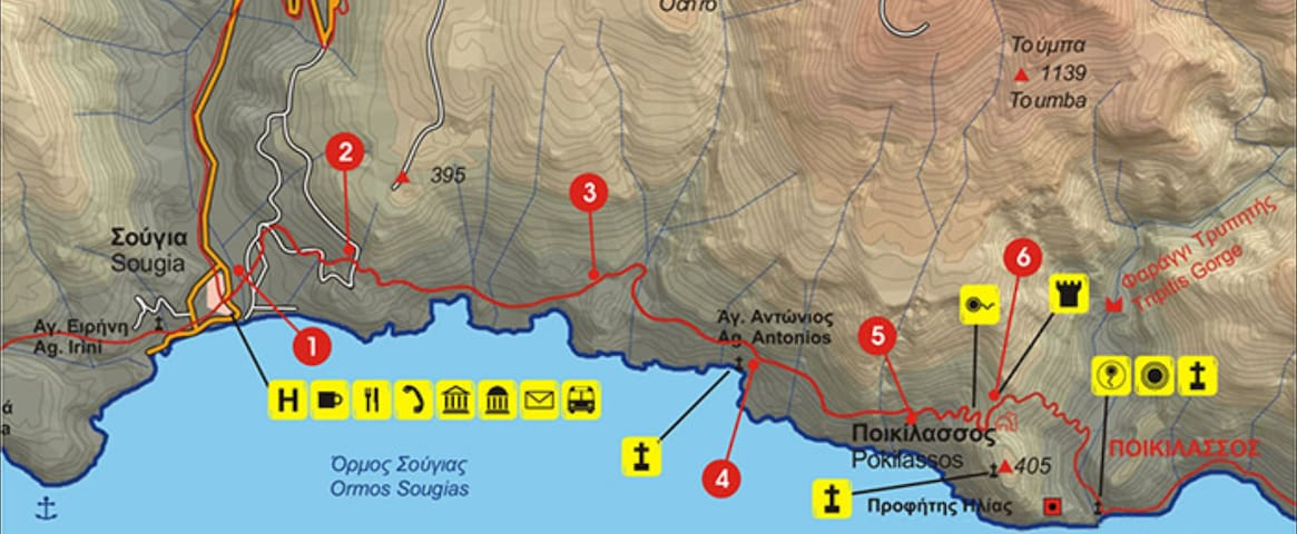 E4 path from Sougia