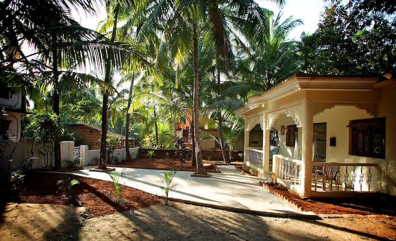 3 Bedroom AC House near Palolem / Patnem beaches - Canacona - Hus