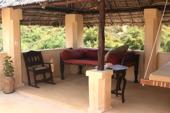 Acacia suite top roof terrace.