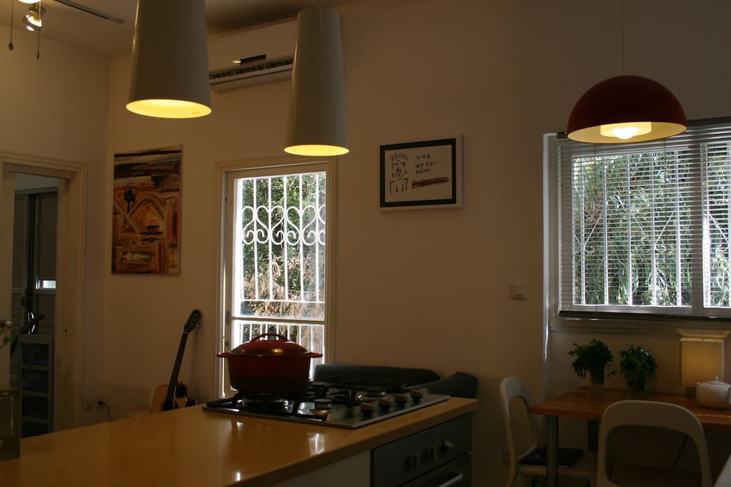 a look from the kitchen fully equipped