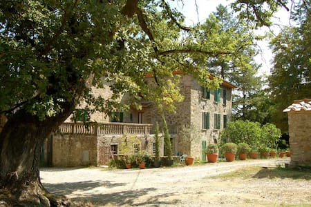 Wonderful large villa, pool, Wi-Fi - Bucine