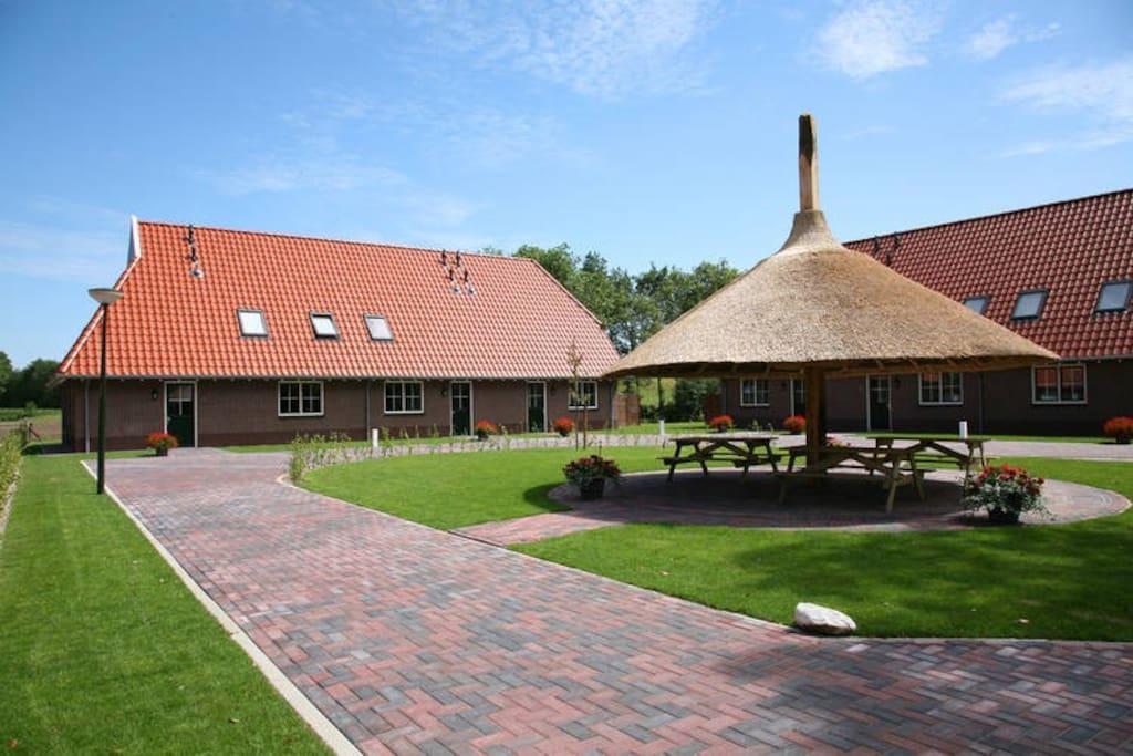 U appartement landelijk gelegen in het mooie Twente.