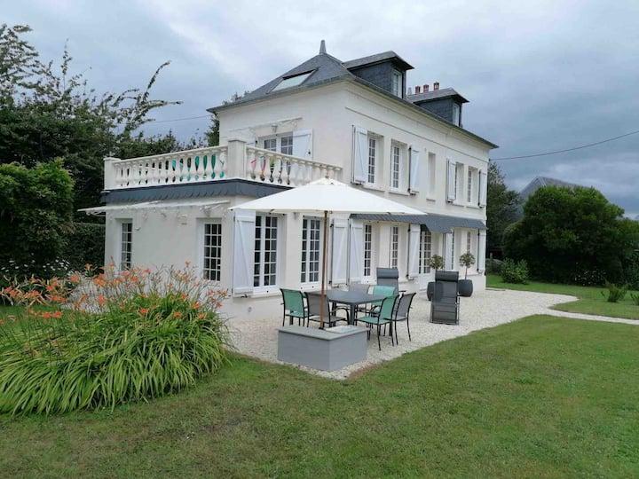 Maison d'hôtes près de Deauville pour 6 personnes.