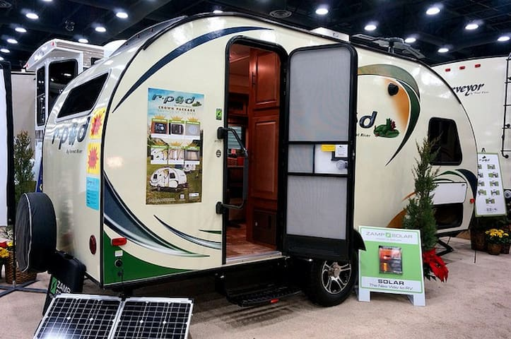 2015 Rpod RV to be delivered to your favorite spot
