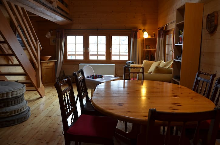 New apartment in old chalet! - Hérémence - Appartement