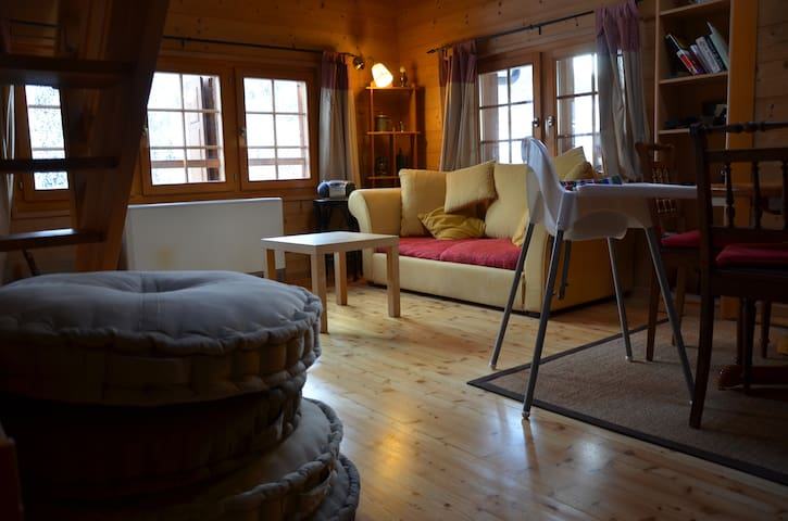 New apartment in old chalet! - Hérémence - อพาร์ทเมนท์