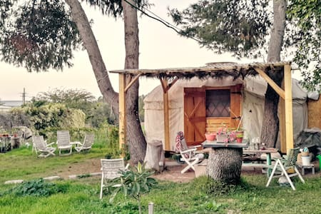 Private rural couple\single yurt - Timorim