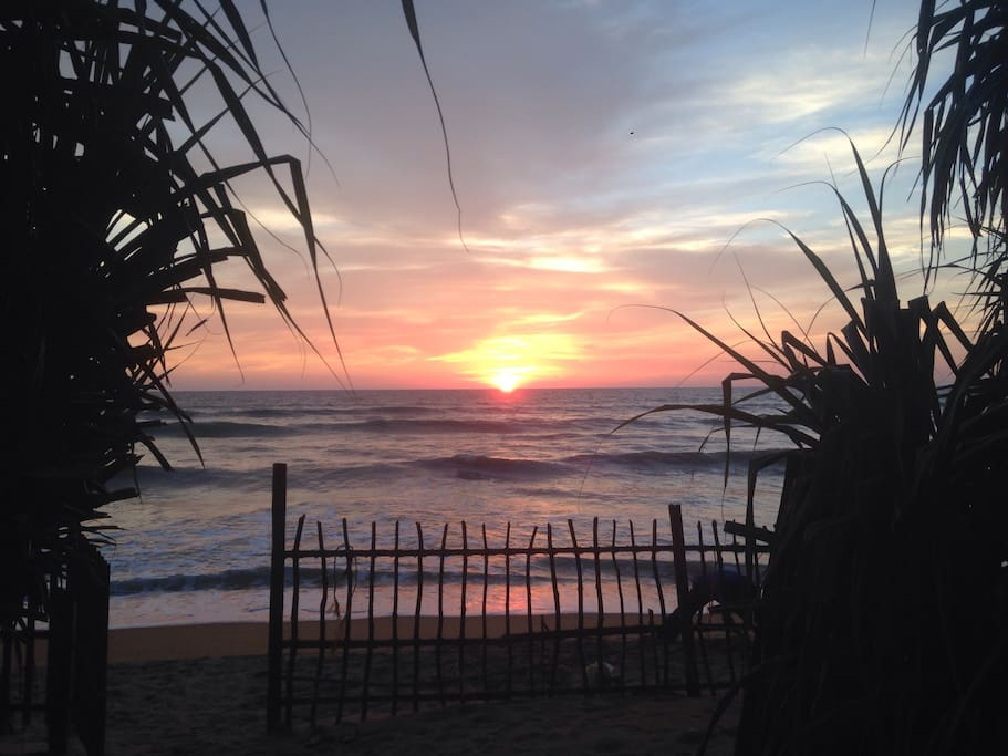 Sunset at Lavila Beach