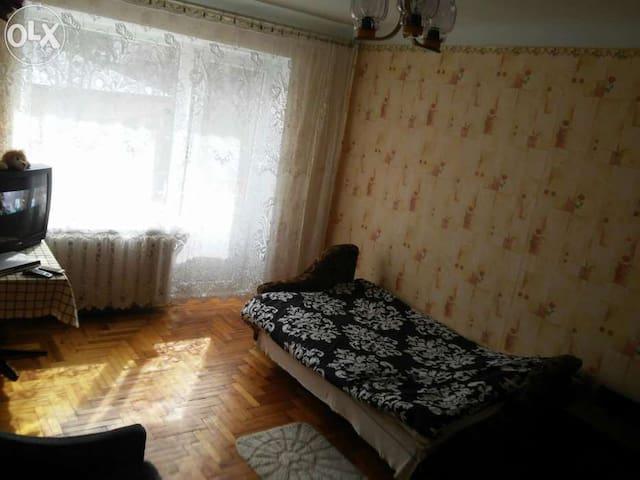 Wi-Fi 1 кімнатна квартира біля Педуніверситету - Ternopil - Leilighet