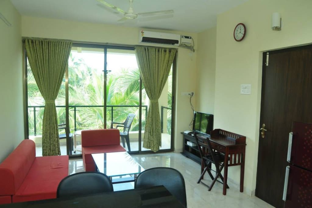 Living Room with Balcony