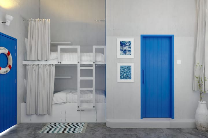 6-bed Mixed Dormitory Ensuite