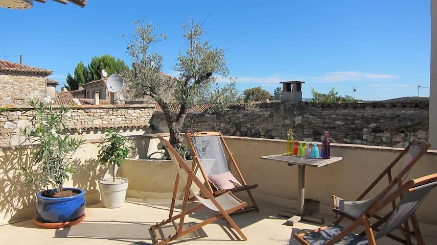 Maison de caractère avec piscine - Brignon - Casa