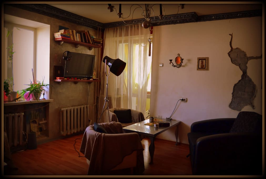 гостиная - eще один вид/ living room, salon - one more view