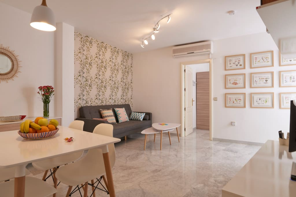 Casa luz mezquita apartments for rent in c rdoba for Sofa ideal cordoba