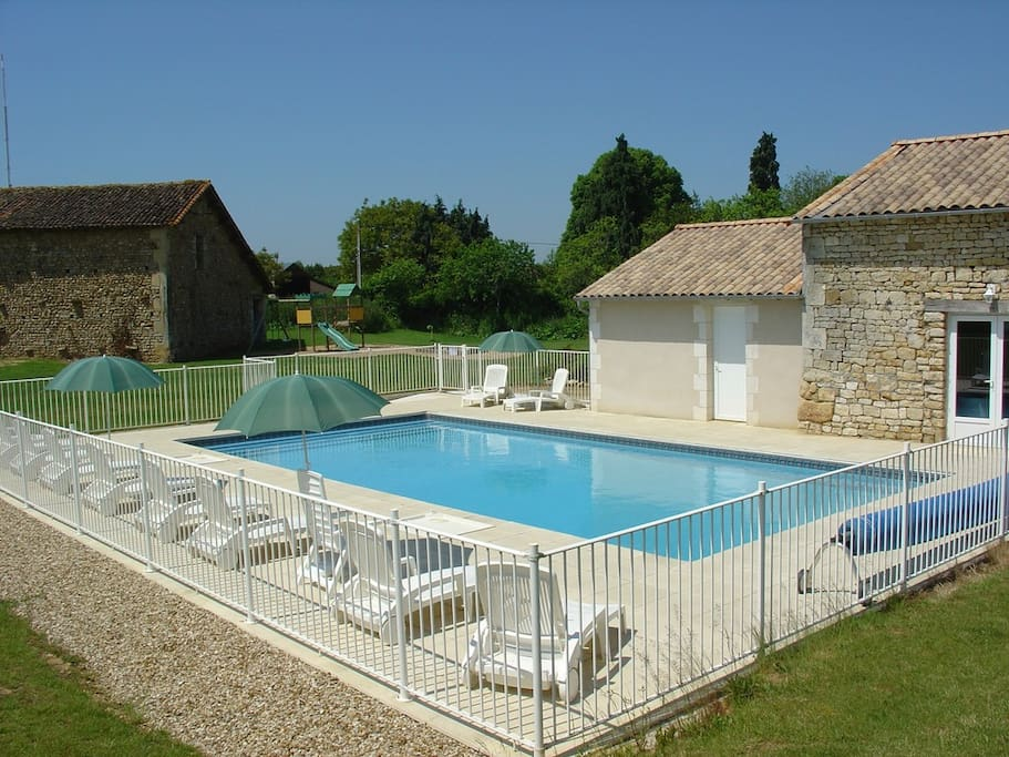 Cottage Heated Swimming Pool Spa Houses For Rent In Saint Vincent La Ch Tre Poitou