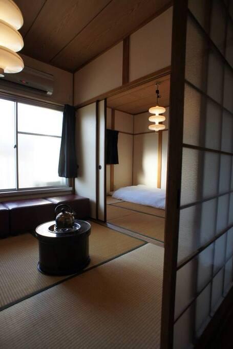 Retro Japanese Tatami Room