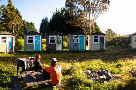 Cozy & Private Mini Hut on a farm ! - Turangi - 小屋