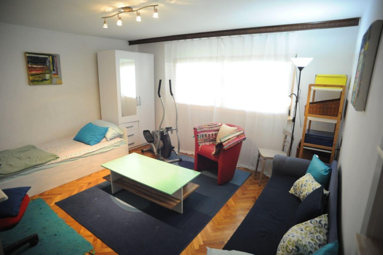 Cozy rooms.