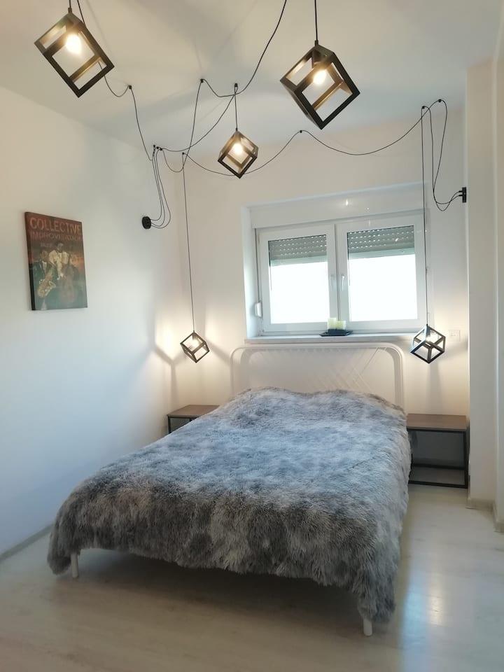 Komfortowy apartament w pięknym miasteczku