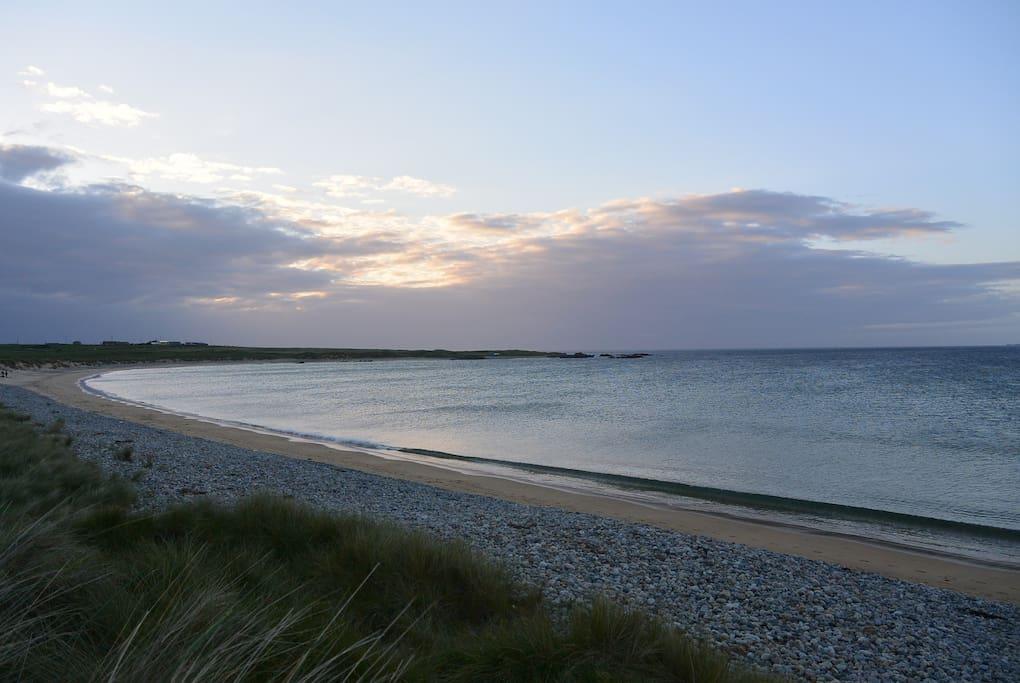 The Beautiful Tullagh Beach