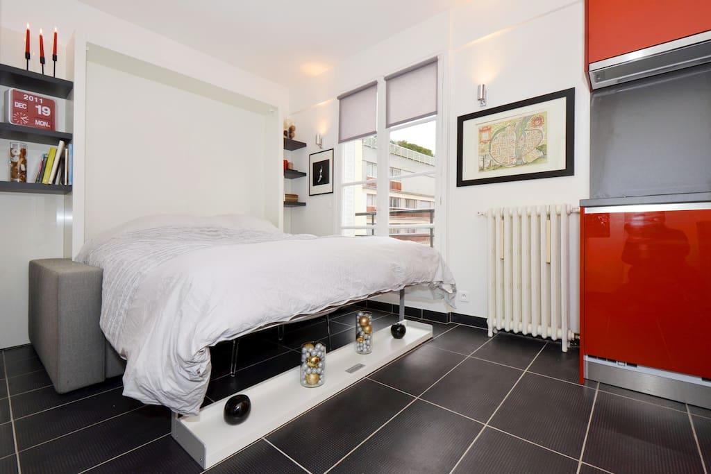 Studio meubl pour deux personnes appartements louer for Louer studio meuble paris