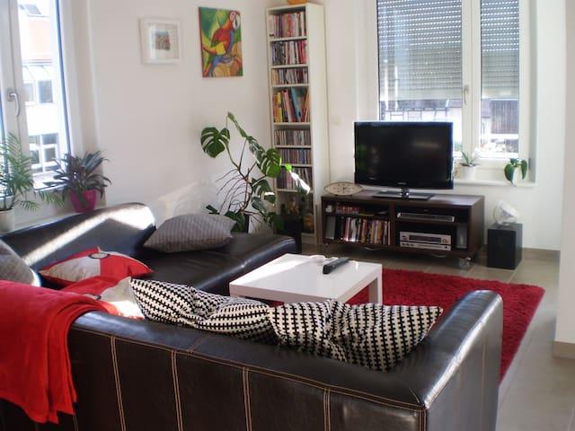 Gemütliche Wohnung in Karlsruhe - Stutensee - Apartemen