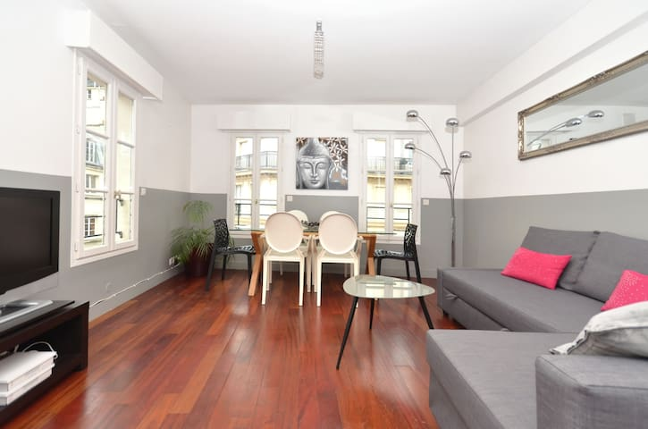 Lovely duplex in the heart of Paris
