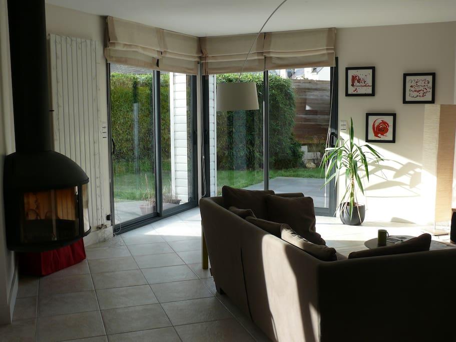 grand confort coeur de vannes houses for rent in vannes. Black Bedroom Furniture Sets. Home Design Ideas