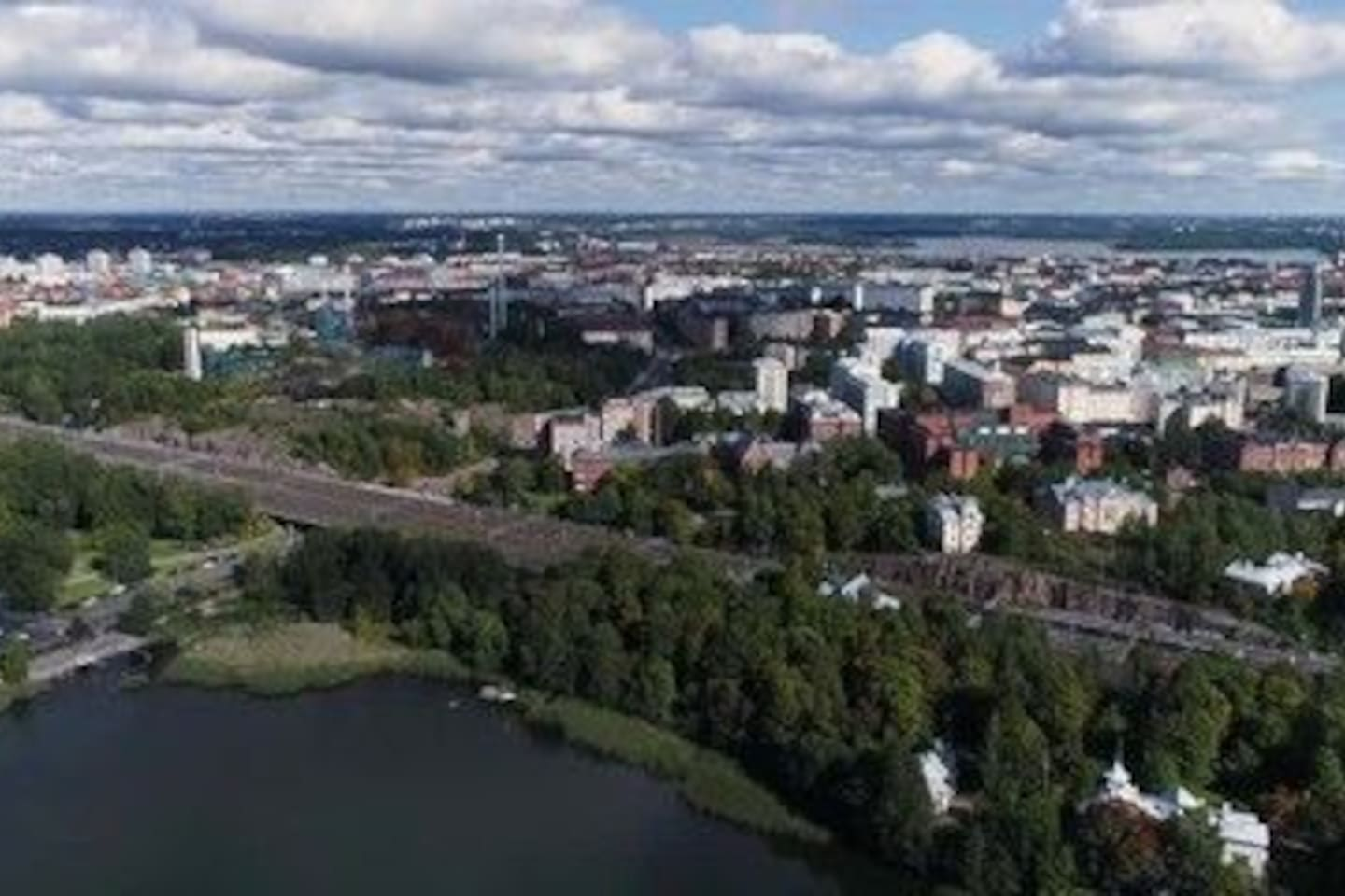Lovely pasila city and nature.