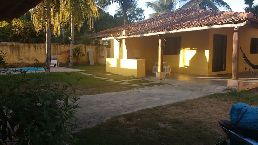 Casa na Praia de Mundai