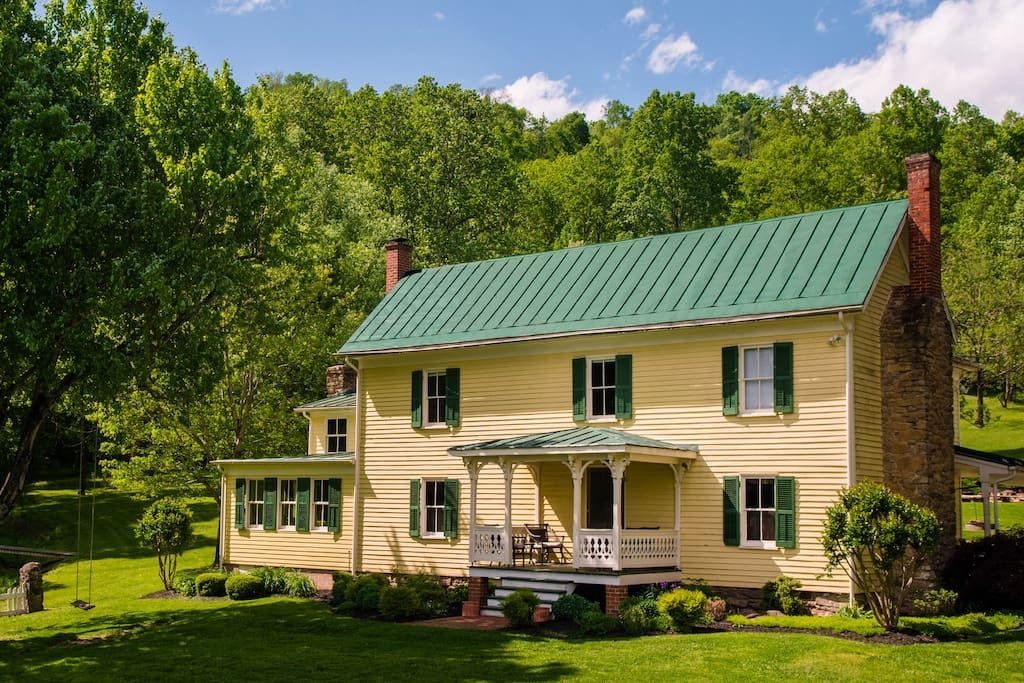 Spacious 5 bedroom completely remodeled farm house.