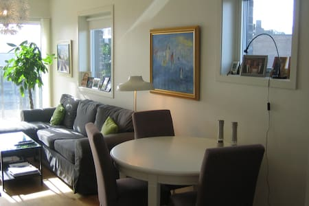 Top floor new apartment 10 min from Oslo