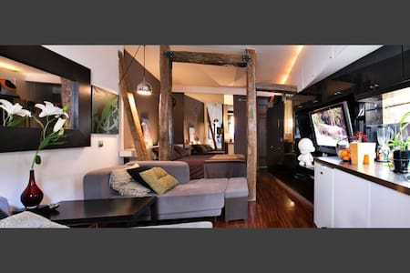 Wonderful loft in Madrid center - Madrid - Loft