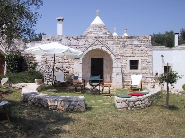 Trullo Camino tipico originale! - Ceglie Messapica - Apartment