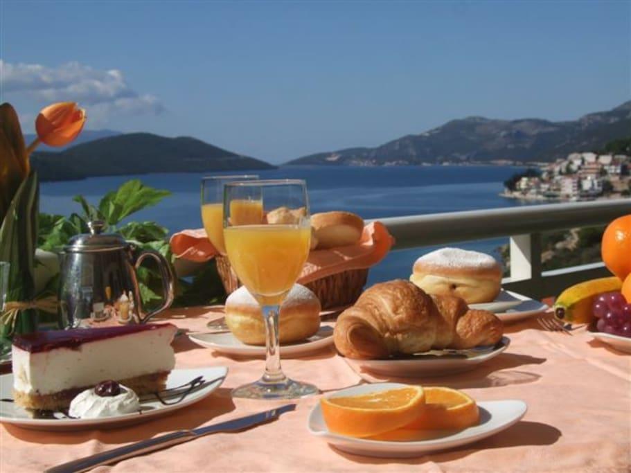 Breakfast - hotel Agava