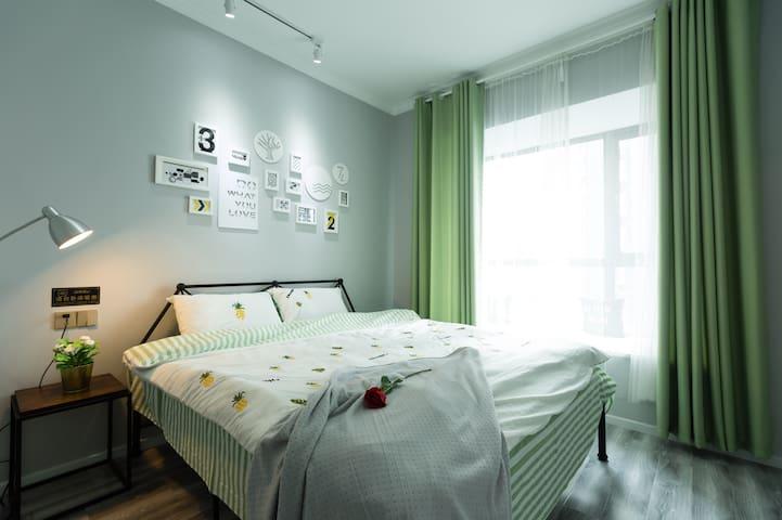 江景卧室一