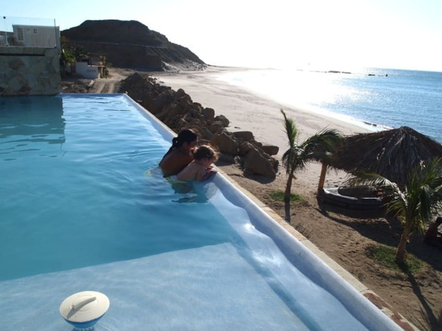 Infinity pool and the cape