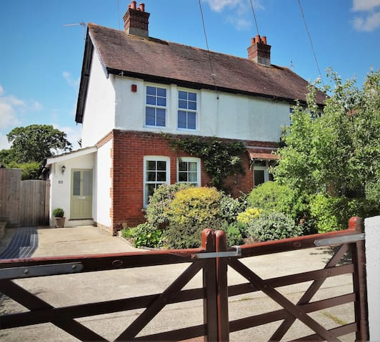 Charming, spacious village home with large garden.